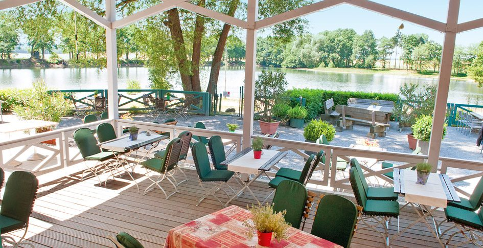 Terrasse SeeRestaurant Bollendorf